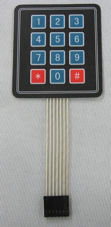 12 Key 3x4 Matrix Keypad