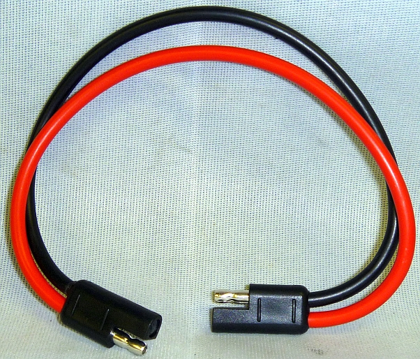 10 AWG 2-Pin Quick Disconnect Bullet Lead 12\