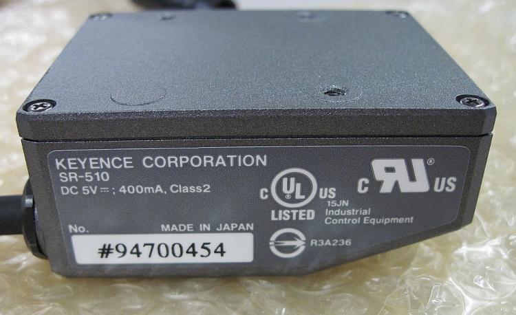 Keyence SR-510 2D Medium Distance Bar Code Reader