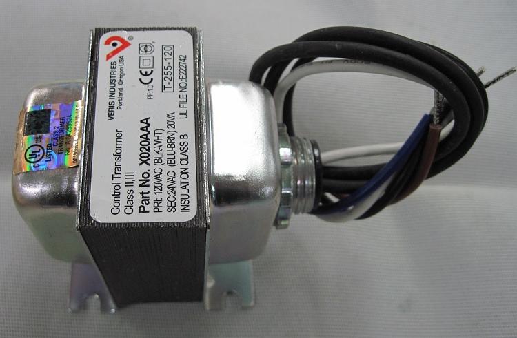 Veris Industries 24VAC 20VA Transformer Model X020AAA