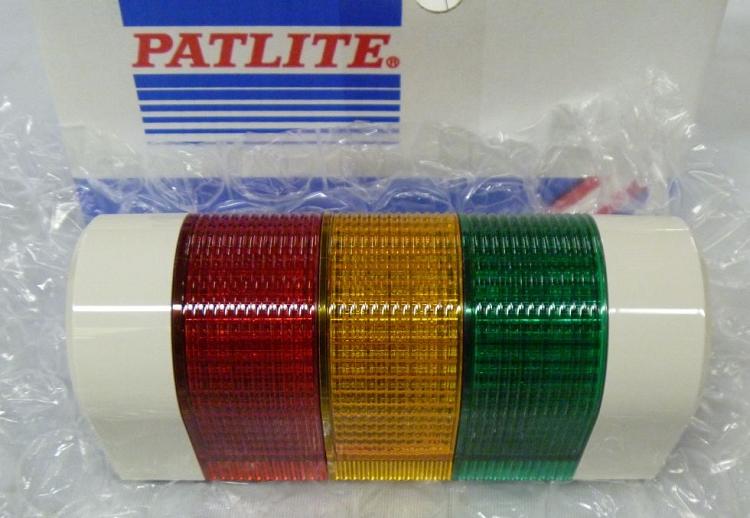 patlite 80mm profile wall mount bulb tower signal light. Black Bedroom Furniture Sets. Home Design Ideas