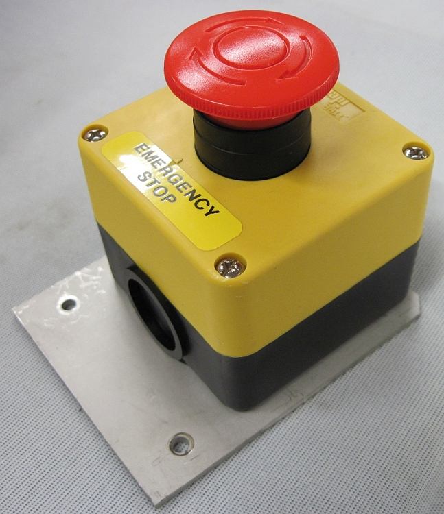 how to connect emergency stop switch