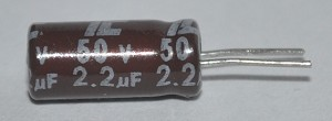 2.2uf 50v Capacitor Mfg.Illinois Capacitor