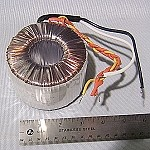 Toroid Audio Amplifier Power Transformer, 240VA, 81v w/ Center Tap
