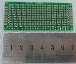 30mm x 70mm (3 x 7cm)  2-Layer Prototype Perf Board