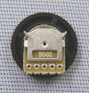 5K Ohm Linear Ultra Thin Micro Rotary Potentiometer