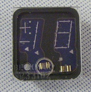 Beckman / Sperry 1-1/2-Digit VFD (Segmented Neon Display) Model SP331