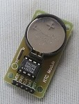 DS1302 Real Time Clock Module For Arduino w/2032 Battery