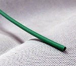Heat Shrink Tubing: 4ft long, 3/32 in. Diameter, Green