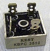 High Current Bridge Rectifier 1000v 35A KBPC3510