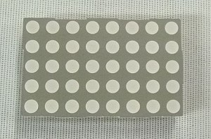 Liteon 5 x 8 Red Orange & Green Dot Matrix Display w/3mm Dots #LTP-2558AA