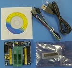 M48+EX Starter Kit / Development Board For ATMega 8/48/88/168/328  Microprocessors
