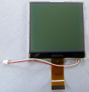 Newhaven Display 128 x 128 Graphics COG (Chip on  glass)  LCD Display Model NHD-C128128BZ-FSW-GBW