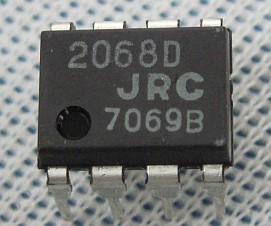 Dual General Purpose OpAmp Low Noise High Performance #NJM2068D