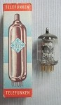 Telefunken E180F High-slope RF Pentode Vacuum Tube Tested 98%