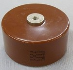 TDK Molded Ultra High Voltage Ceramic Capacitor 2000pf 40kV Model UHV-9AT (UHV-9A)