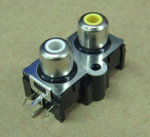 RCA female connector