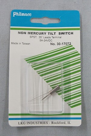 Non Mercury Tilt Switch Model 30-17072
