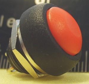 Push Button Momentary Switch (Red)