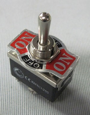 DPDT Toggle Switch 20 Amp@125VAC
