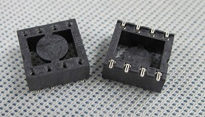 SMD (Surface Mount) I.C. Socket 8-Pin