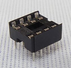 8-Pin IC DIP Socket