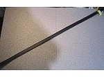 Heat Shrink Tubing: 4ft long, 3/4 in. Diameter, Black