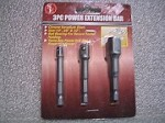 3 pc. Power Extension Bar