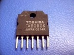 Toshiba TA8080K 1.0 Amp DC Motor Driver (Single) (Built in H-Bridge)