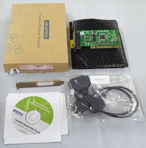 Advantech 2-Port RS232 PCI Communication Card w/Isolation Protection Model PCI-1604UP-AE