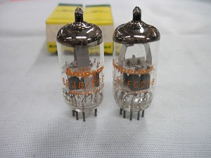 Amperex 6DJ8 ECC88 N.O.S. Matched Pair