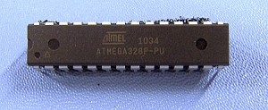 Atmel ATMega328P-PU Microprocessor With Boot Loader