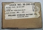 Willard Storage Battery Co. Battery Pack #BB-208-206