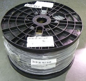 Belden 9614,  9-Conductor - Computer Cable for EIA RS-232 Applications, 1000 Ft. Roll