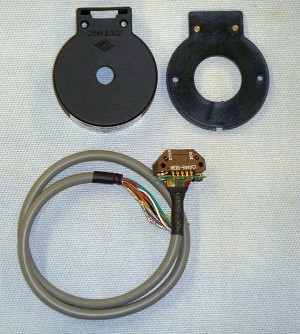 Avago HEDS9040 B00 Three Channel Optical Incremental Encoder Module (Minus Code Wheel)