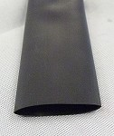 Heat Shrink Tubing: 4ft long, 1 in. Diameter, Black