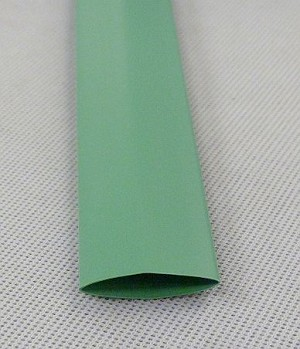 Heat Shrink Tubing: 4ft long, 1/2 in. Diameter, Green