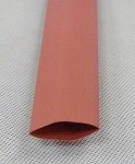 Heat Shrink Tubing: 4ft long, 1/2 in. Diameter, Red