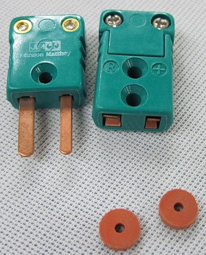 Johnson Matthey R Type Thermocouple Connector Set