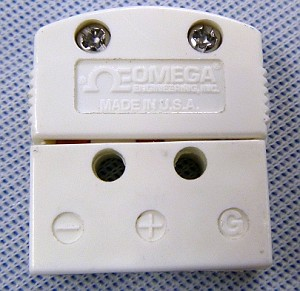Omega MTP-U-F  3-Prong Subminiture Female Connector
