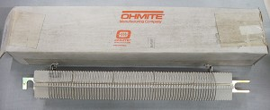 OHMITE 13 Ohm 750 Watt Power Resistor Model PFR5K13R0