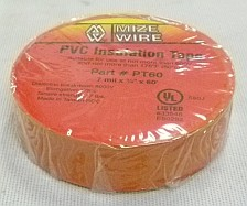 "PVC Orange Electrical Tape 3/4"" x 60'"