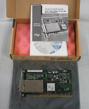 Intel PRO/10GbE SR Server Fiber Adapter