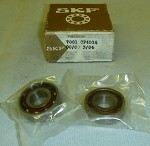 SKF Angular Contact Spindle Bearing Set #7001 CP4DGA 12mm ID x 28mm OD