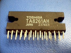 Toshiba TA8261AH 40 Watt Low Voltage Amplifier Chip (s)