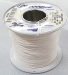 32 AWG (7/40) White TFE Insulation Wire (Approx. 800')